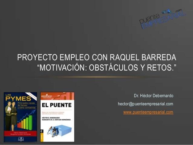 Alta Dirección: Obstáculos y retos. Diapositivas