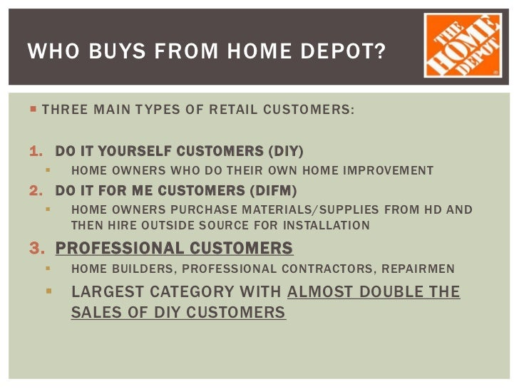 home depot case essay