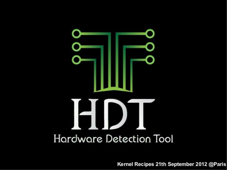 Hardware Detection Tool