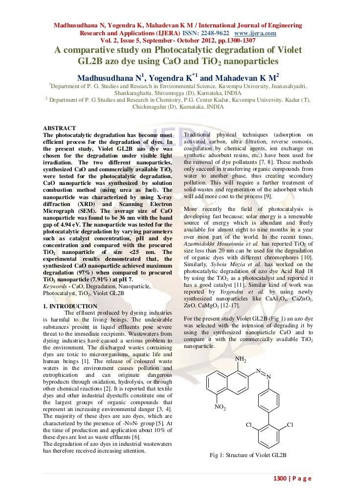 Madhusudhana N, Yogendra K, Mahadevan K M / International Journal of Engineering             Research and Applications (IJ...