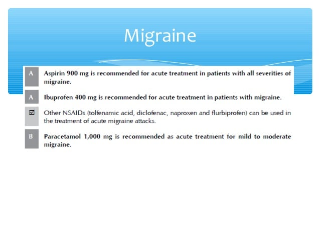 Elavil For Migraines And Pregnancy