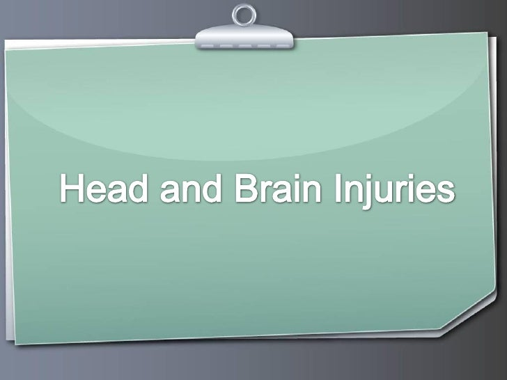 Head and brain injuries require medical treatment      immediately after the incident but many also leave      the victim ...