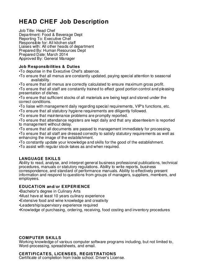 Busser Job DescriptionBusboy Resume Sample Resume Sample – Restaurant General Manager Job Description