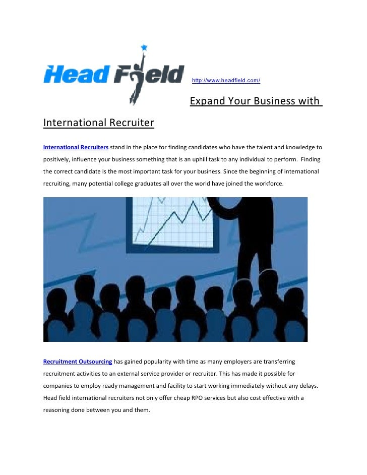 http://www.headfield.com/                                                         Expand Your Business withInternational R...