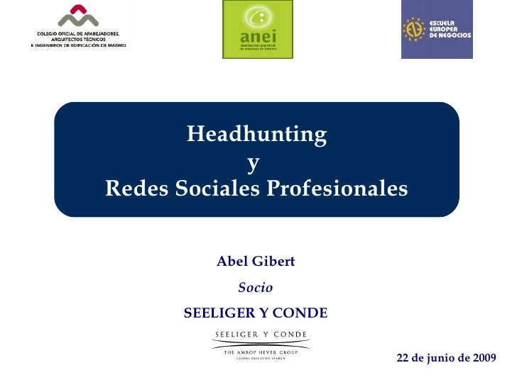 Headhunting y redes sociales profesionales