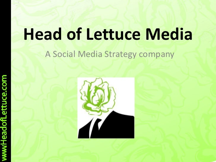 Head of lettuce media pres Rotary