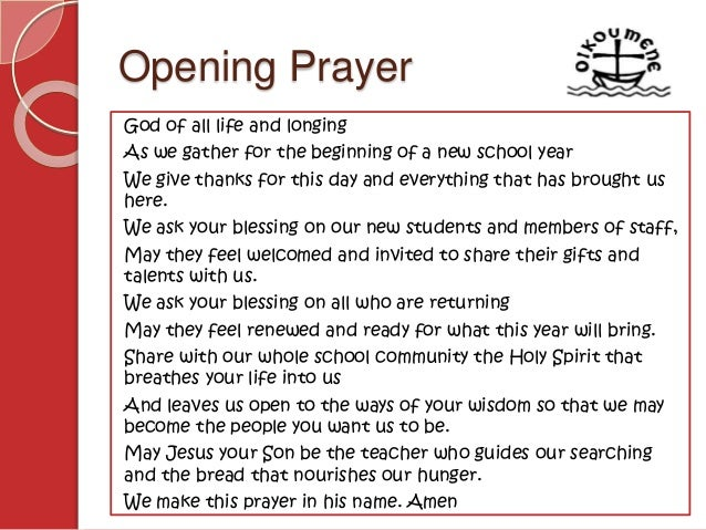 example of opening prayer speech for graduation | just b.CAUSE