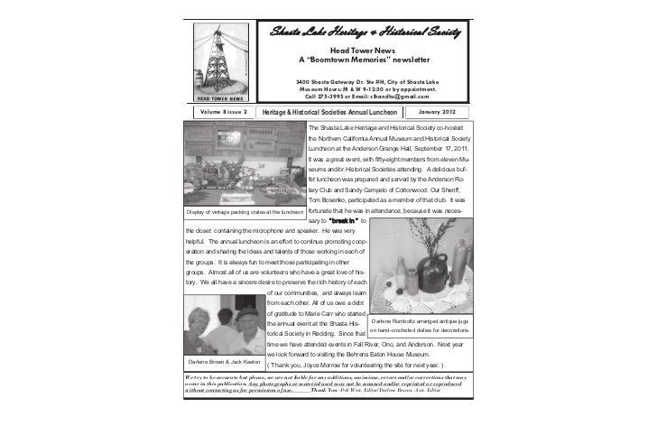 Microsoft                                       Shasta Lake Heritage & Historical Society                                 ...