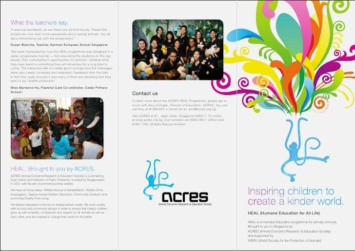 Heal brochure