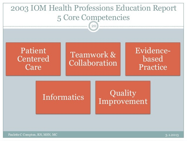 the impact of professional nursing education in quality of care That is more equitable and provides a higher quality of care quality and safety in nursing education  nursing's role in healthcare reform.