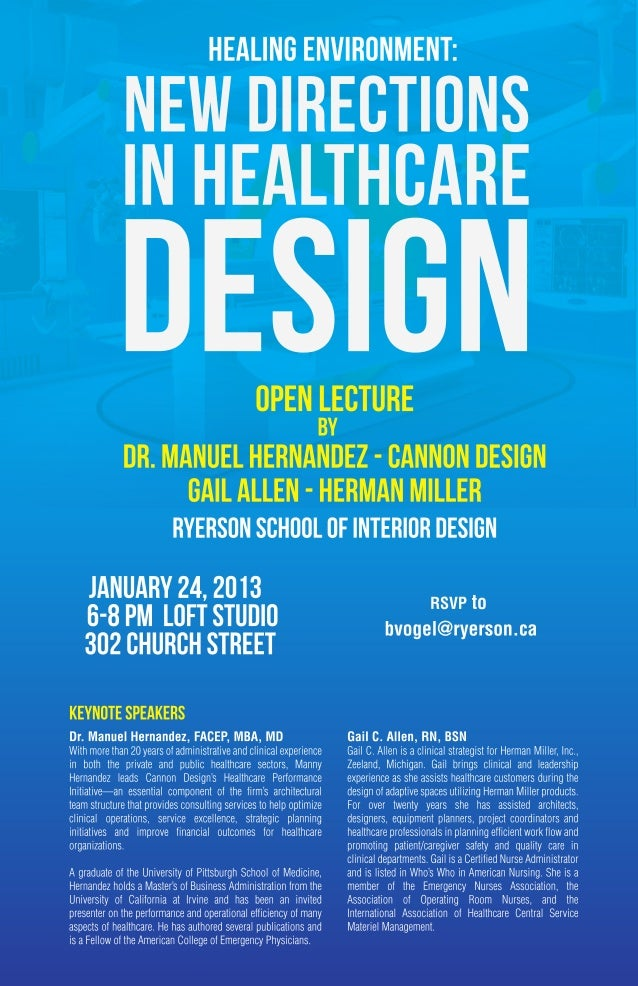 New Directions In Healthcare Design