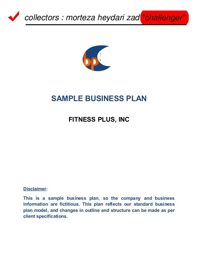 Starting up a gym business plan