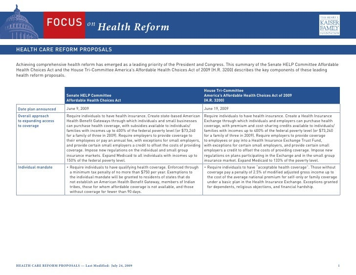 on                                           Health Reform   Achieving comprehensive health reform has emerged as a leadin...
