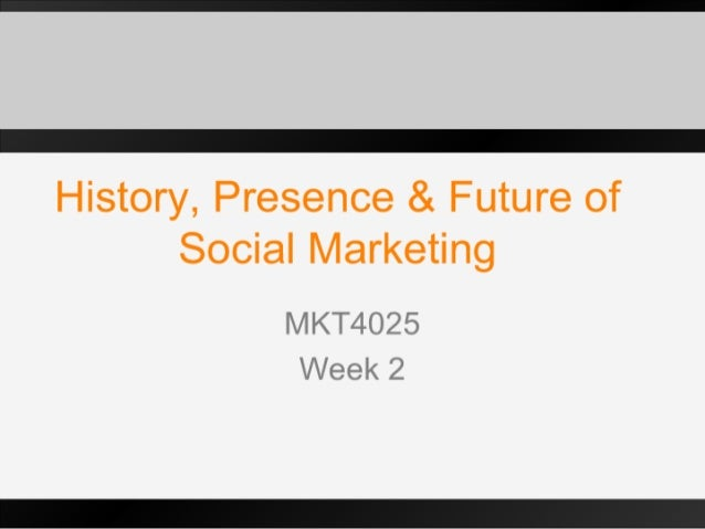 Health & Social Marketing Week2