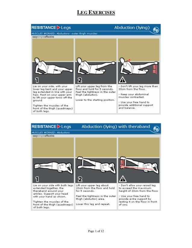 Health 24 & Virgin Active - Leg Exercises