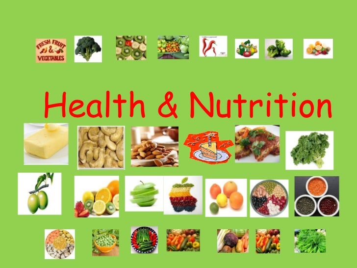 Essay about nutrition and health