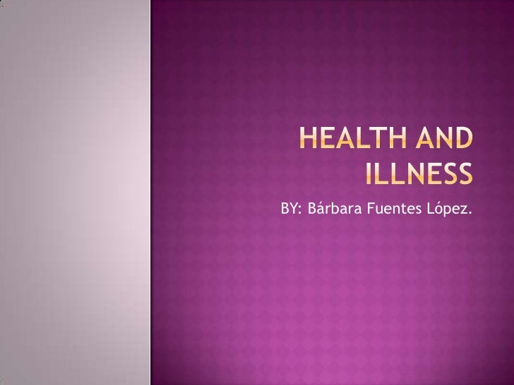 Health and illness project de science (2)