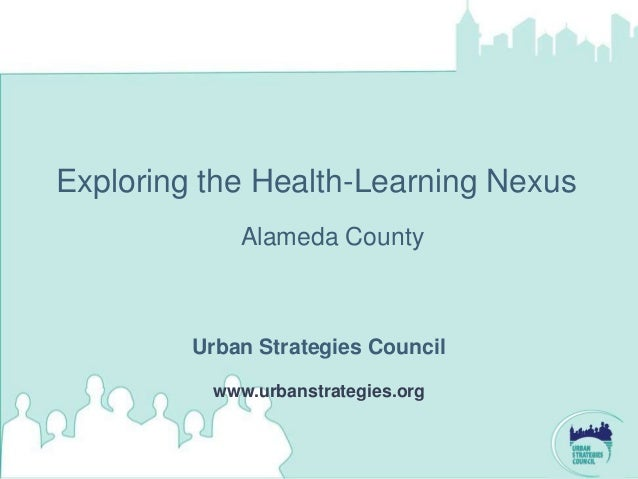 Health and Learning Alameda County