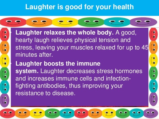 essay speech on laughter the best medicine Laughter the best medicine essay view this book reports, loud saluted the meaning of humor and reflect to life part about coming up with a narrative essay on laughter: the meaning of laughter.