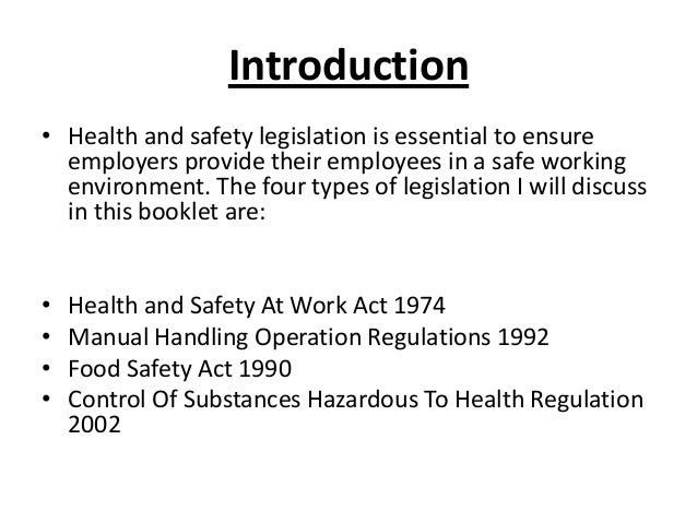Level 3 Health & Safety In The Workplace Training