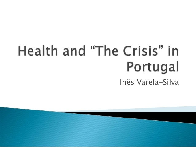 Health and the crisis in portugal