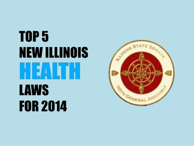 Top 5 New Illinois Health Laws