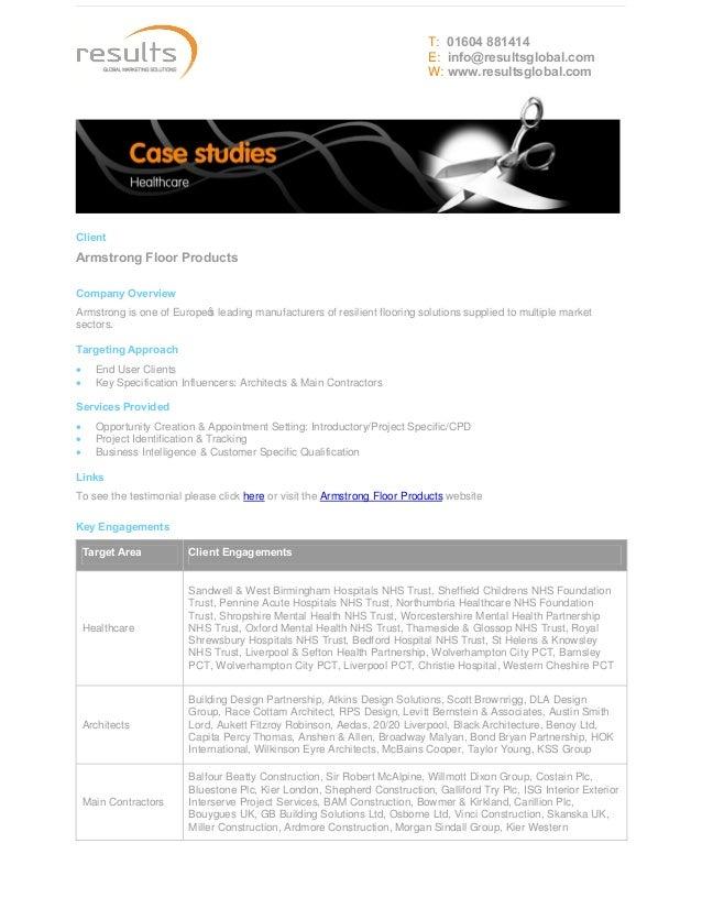Case Study - Healthcare