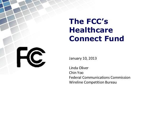 Healthcare connect-fund fcc