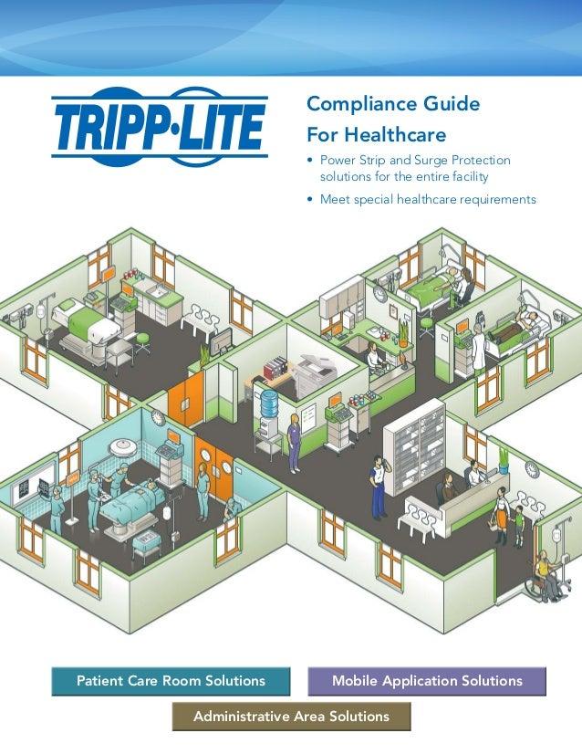 Power Strip & Surge Protector Guide in Healthcare Facilities – Tripp Lite