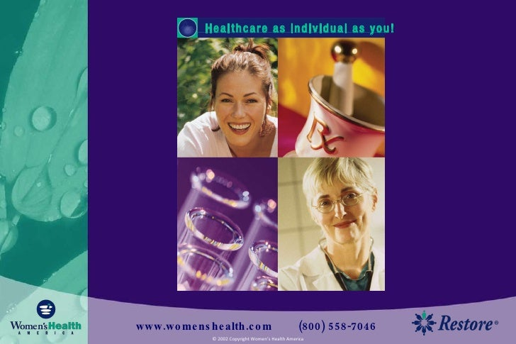 Healthcare as individual as you!