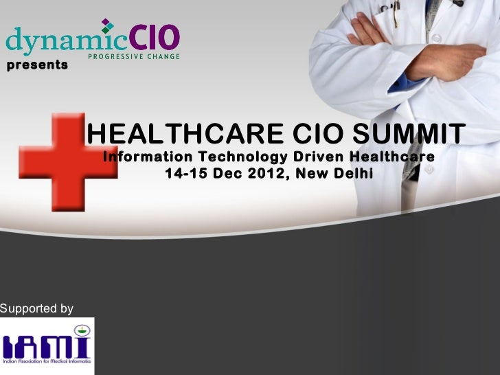 Healthcare CIO Summit ppt