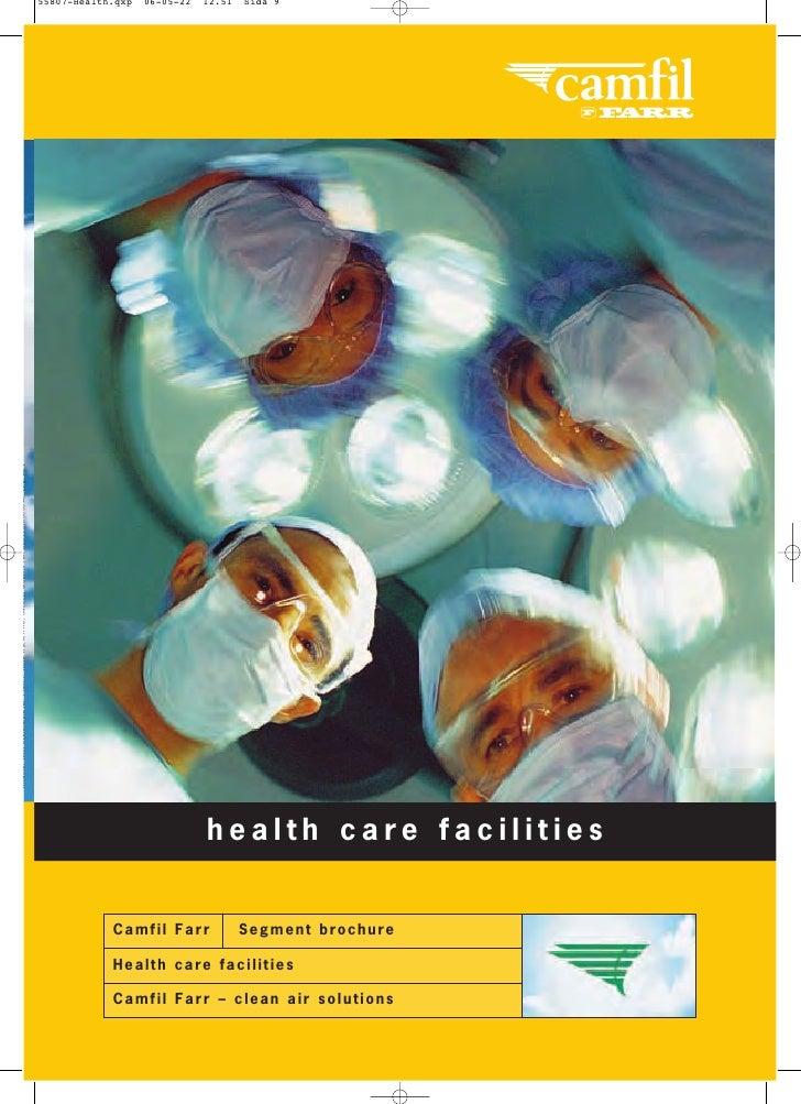Health care facilities segment brochure eng