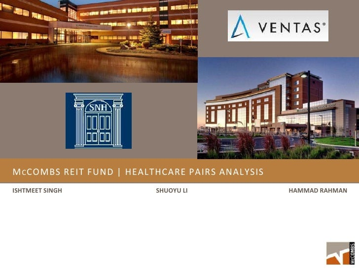 Healthcare REIT pair