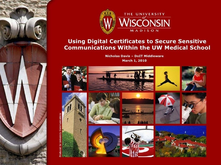 Healthcare information security   secure sensitive communications within the uw medical school