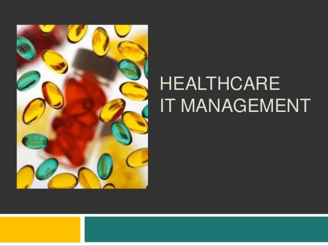 Healthcare IT Management