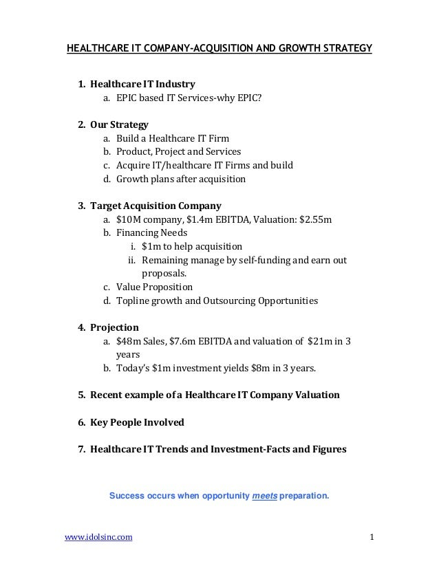 Research proposal ideas for health care