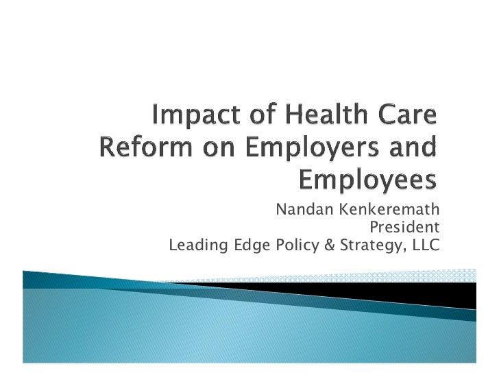 Nandan Kenkeremath                          PresidentLeading Edge Policy & Strategy, LLC