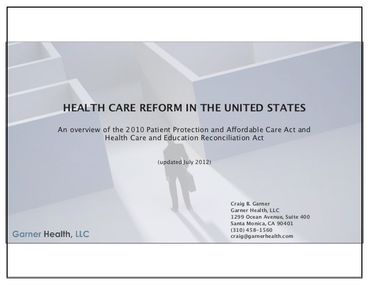 Health Care Reform in the United States