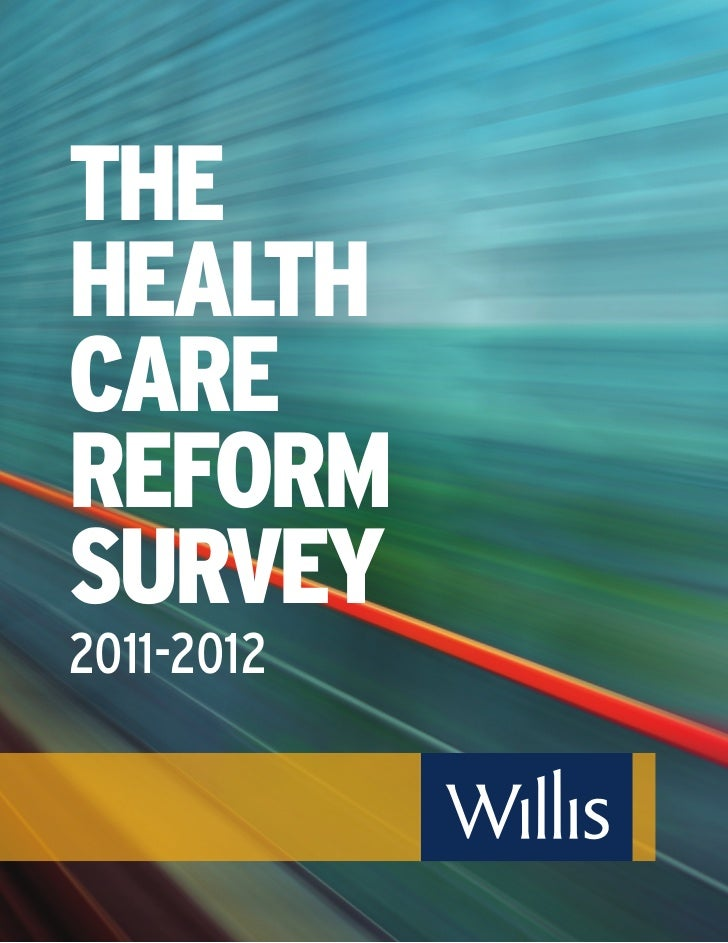 Health Care Reform Survey 2011-2012l