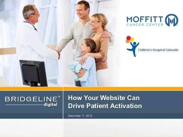 Webinar: How Your Website Can Drive Patient Activation