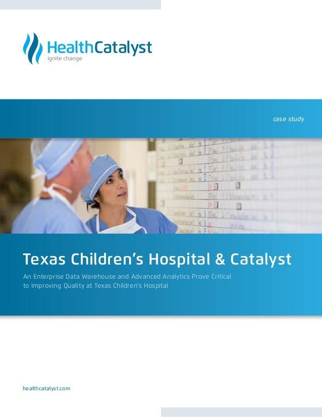 Healthcatalyst texaschildrens
