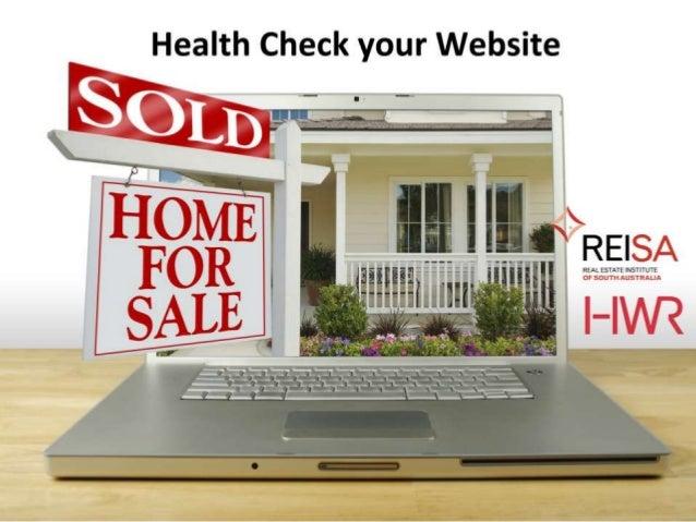 Health Check your Website - REISA