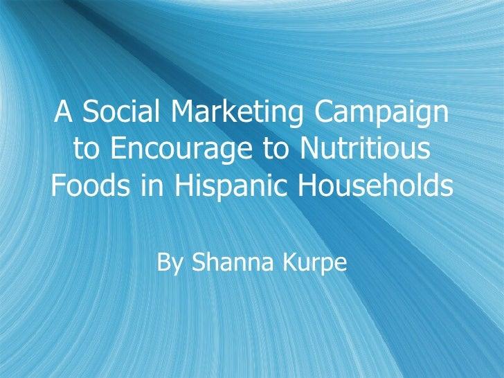 Health Communication Campaign to Hispanic Women