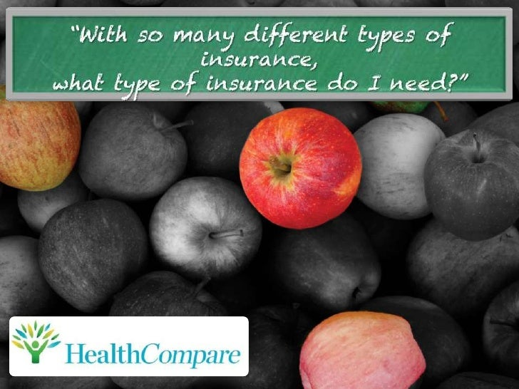 HealthCompare Insurance - Understanding other types of insurance