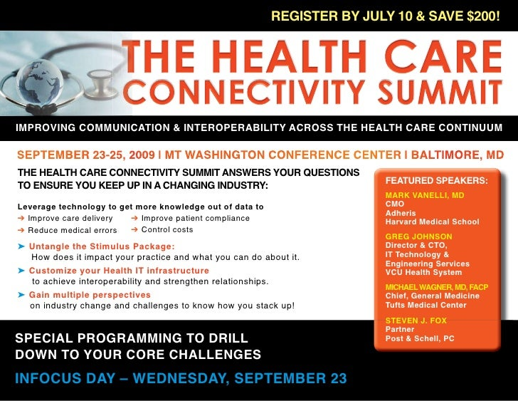 The Health Connectivity Summit