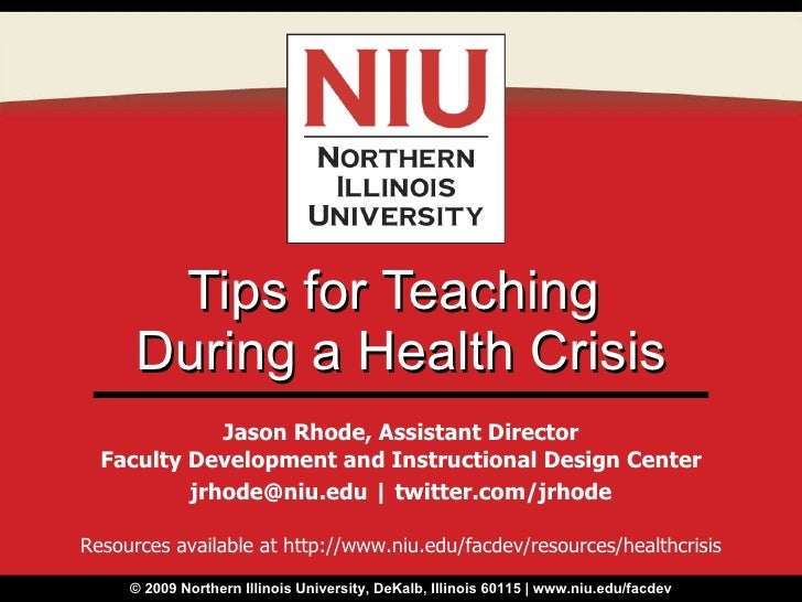 Tips for Teaching During a Health Crisis