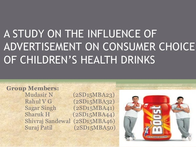 influence of advertisement We live in a world of advertising when i was a kid i liked seeing the cool toys, now i cannot stand ads as i am more aware of the influence on my choices.