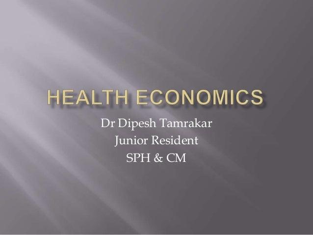 Dr Dipesh Tamrakar Junior Resident SPH & CM