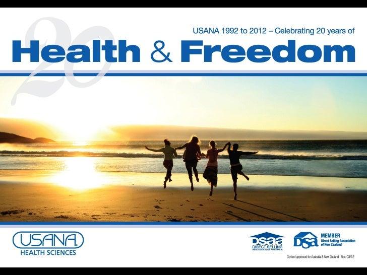 Health & freedom flip chart