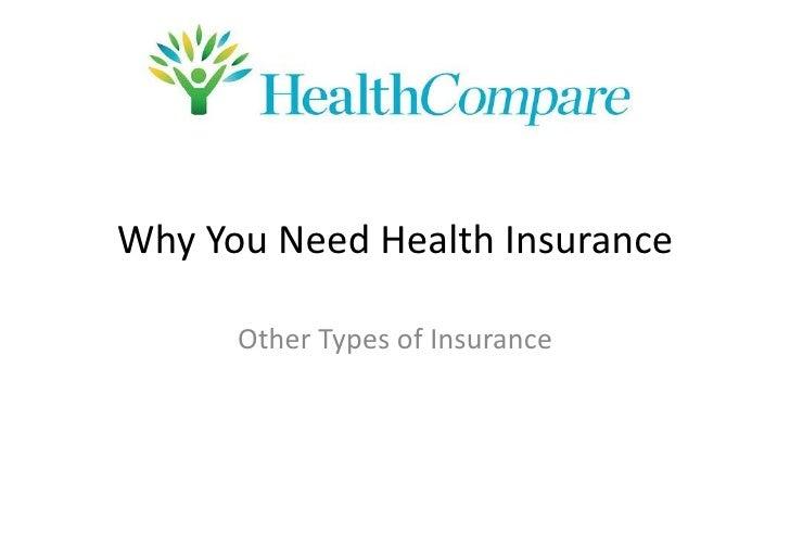 Why You Need Health Insurance        Health Insurance 101                Prepared by REV Media Marketing LLC              ...